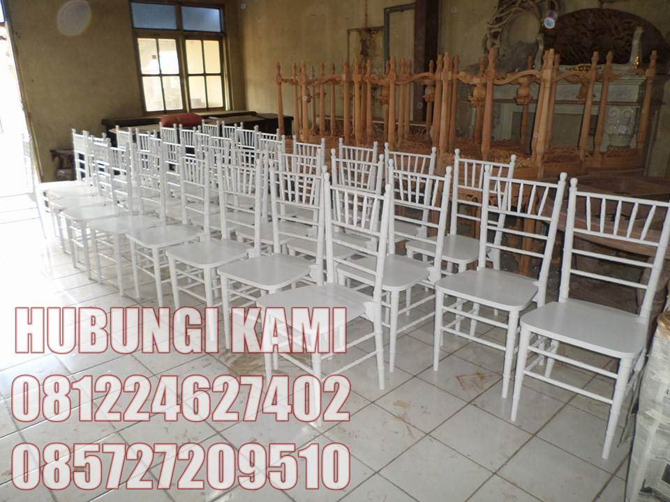 Kursi Tiffany Untuk Pesta Pernikahan