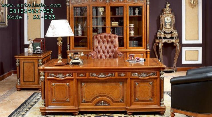 Meja Kantor Executive Mewah Terbaru