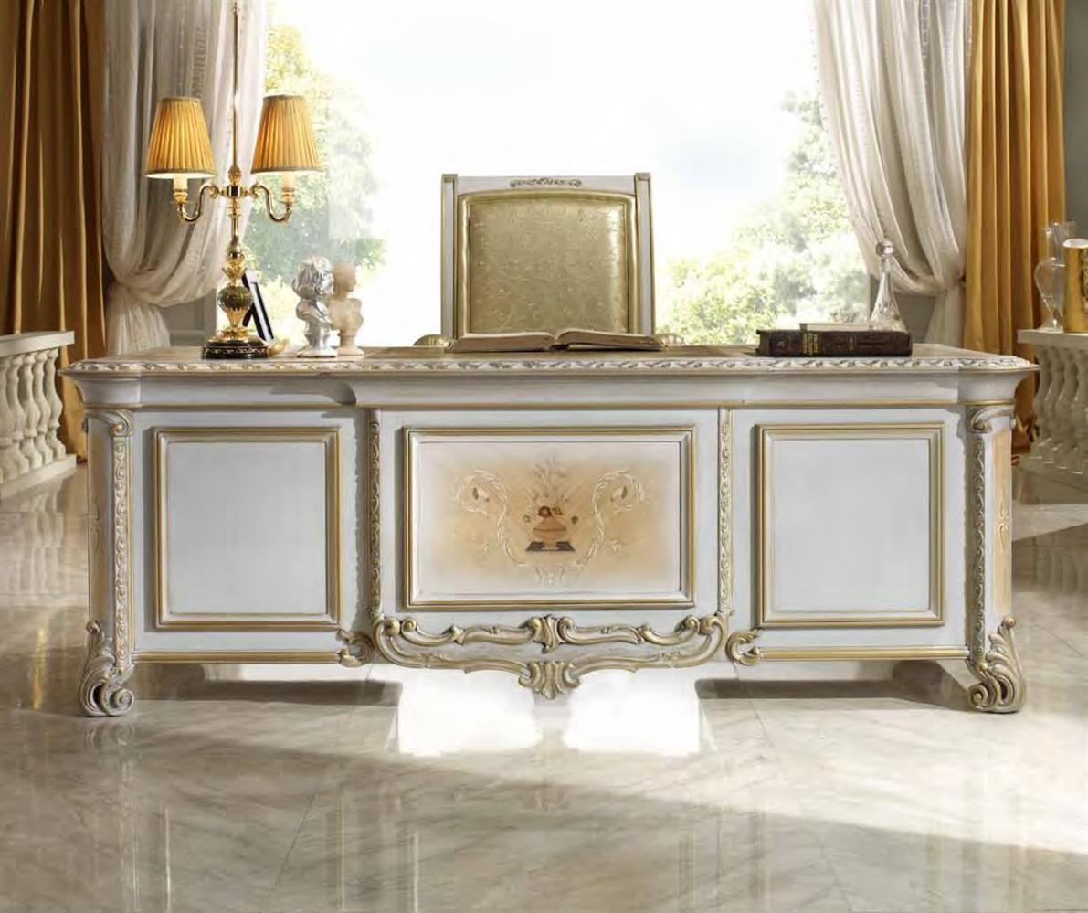 Meja Presiden Kantor Klasik Mewah