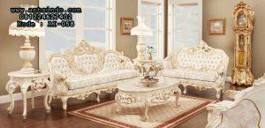 Kursi Tamu Mewah Gold Duco Model Ukiran Klasik Jepara