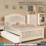 Tempat Tidur Anak Sorong Minimalis Klasik