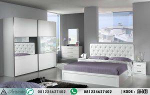 Set Kamar Tidur Minimalis Putih Elegan