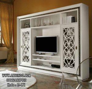 Lemari Tv Hias Model Klasik Kontemporer AI-171