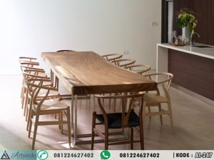 Set Meja Makan Suar Wood AI-247