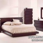 Set Tempat Tidur Kayu Jati Model Jepang