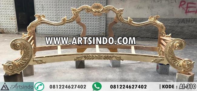 Unfinishid Sofa Mewah Ukiran Esmeralda AI-310