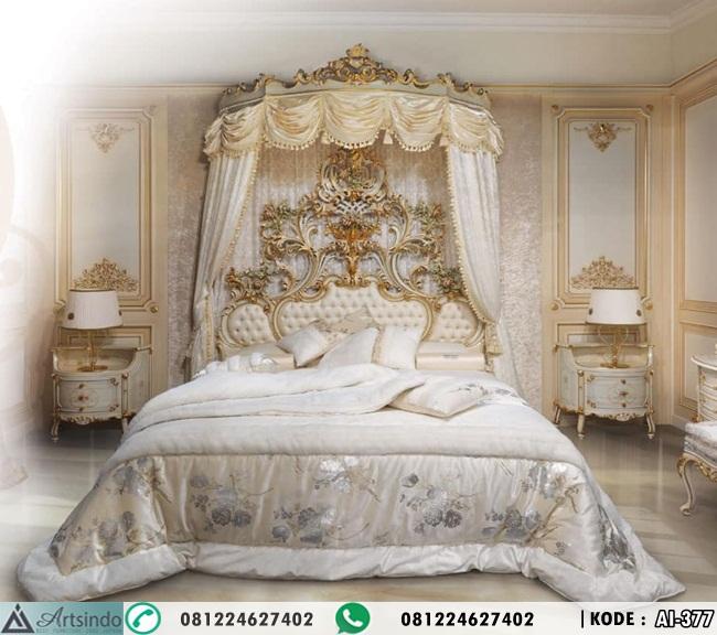 Tempat Tidur Pengantin Ukiran Klasik AI-377