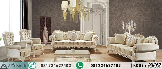 Set Sofa Kursi Tamu Klasik Modern