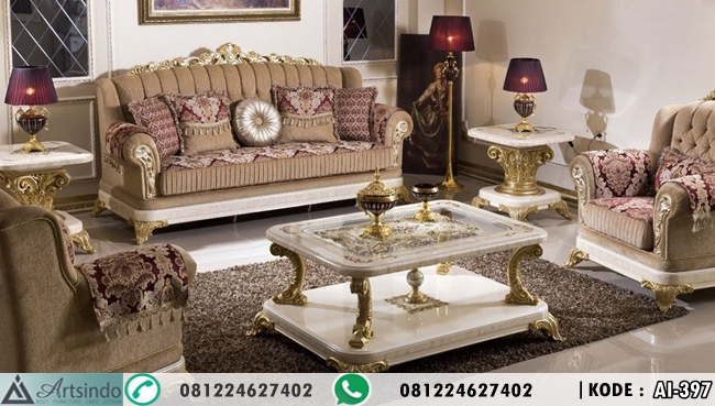 Set Sofa Tamu Mewah Model Terbaru