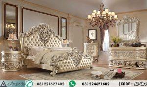 Tempat Tidur Mewah Ukir Woelan Victorian Klasik