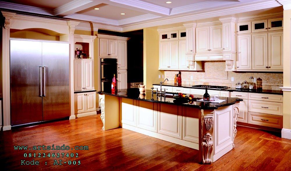 Model Kitchen Set Klasik Terbaru Harga Murah Desain Mewah Arts