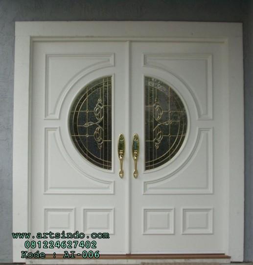 Pintu Kupu Tarung Daun Pintu Utama Minimalis Terbaru Harga Murah Arts Indo Furniture Jepara