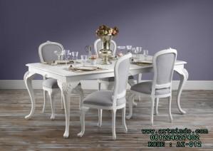 Set Meja Makan Murah Klasik Minimalis Duco Beaulieu