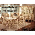 Set Meja Makan Lux Klasik Eropa AI-074