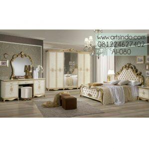 Set Kamar Tidur Mewah Klasik Jouna AI-080