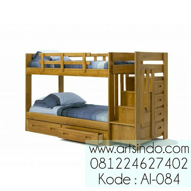 Tempat Tidur Susun Minimalis Modern AI-084