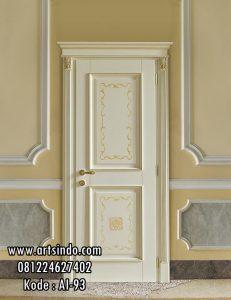Desain Pintu Kamar Mewah Eropa