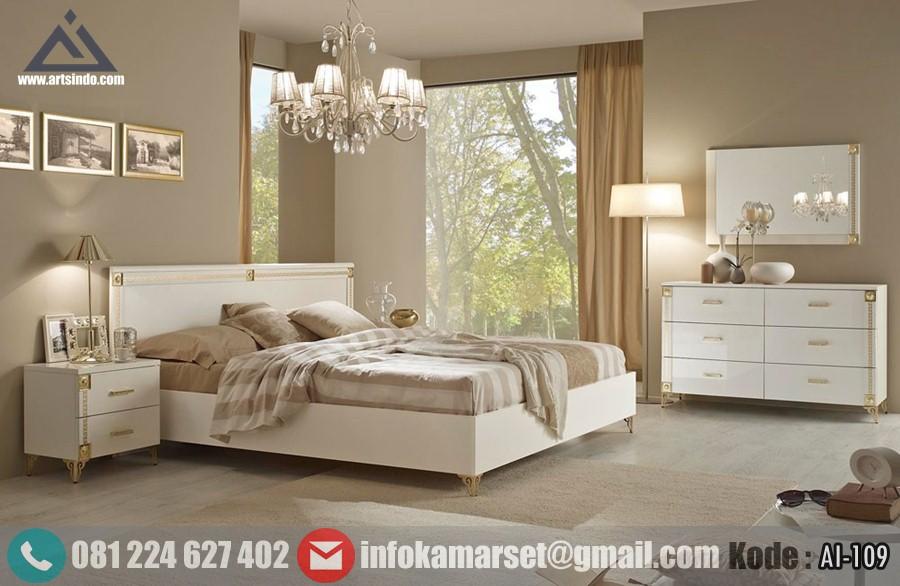 Set Kamar Tidur Minimalis Mewah Desain Tempat Tidur Elegan