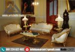 Kursi Tamu Mewah Victorian Gold Ukir Klasik