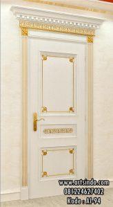 Model Pintu Kamar Mewah Klasik Gold