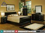 Set Tempat Tidur Remaja Queen Coklat