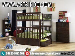 Set Tempat Tidur Tingkat Anak Laki-Laki AIT-11