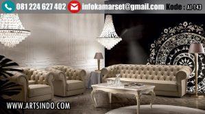 Sofa Tamu Minimalis Klasik Certosa