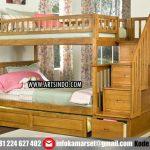 tempat-tidur-tingkat-kayu-jati
