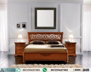 Set Tempat Tidur Klasik Kayu Jati