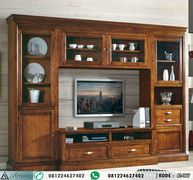 Lemari Hias Kabinet Tv Bufet Tv Panjang Ruang Tengah