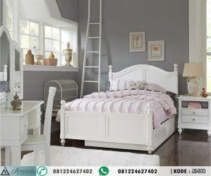 Kamar Set Anak Perempuan Klasik Putih
