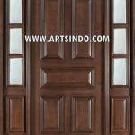 Desain Pintu Minimalis Klasik Single Utama AI-220