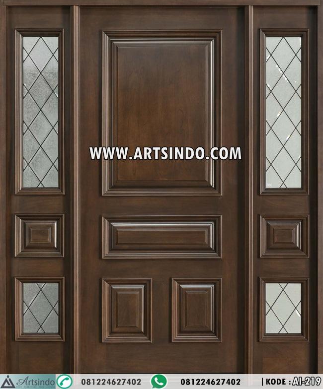 Kusen Pintu Utama Single Model Jendela Sambung Ai 219 Arts Indo Furniture Jepara Arts Indo Furniture Jepara
