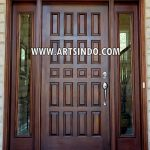 Main Door Minimalis Panil Single AI-221