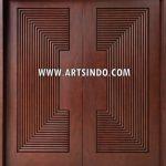 Pintu Depan Model Profil 3D AI-213