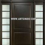 Pintu Minimalis Jendela Panel Kaca AI-215
