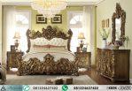 Set Tempat Tidur Classic Ukir Antiq Gold AI-230