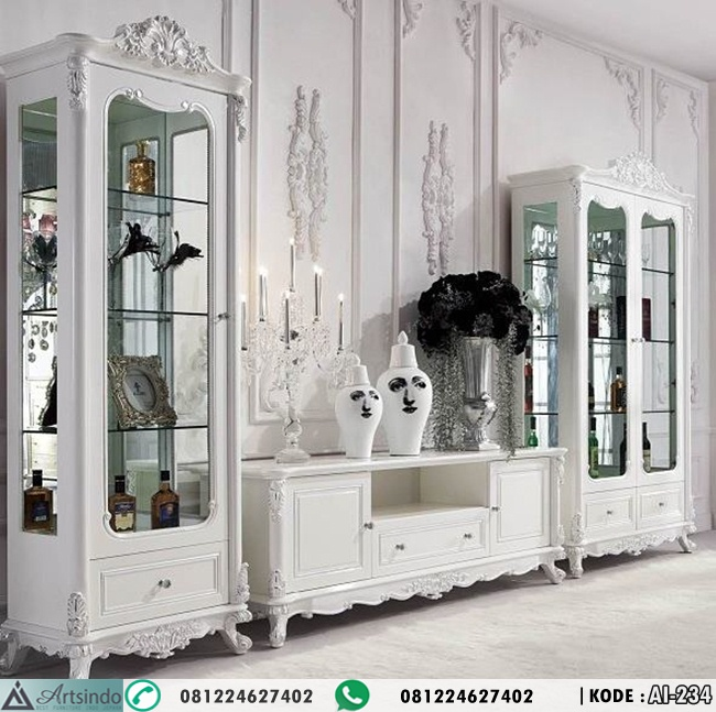 Bufet TV Cabinet Luxury Royal Classic AI-234