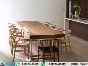 Set Meja Makan Suar Wood AI-247