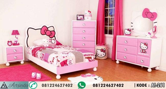 Tempat Tidur Hello Kitty Murah