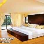 Tempat Tidur Hotel Model Minimalis Mewah