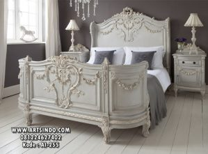 Tempat Tidur Klasik French Style  AI-255