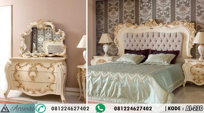 Tempat Tidur Mewah Klasik Eropa