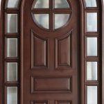 Pintu Panel Single Model Lengkung AI-298
