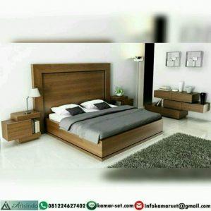 Tempat Tidur Minimalis Jati AI-323