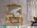 Meja Konsul Ukir Klasik Gold Maria Cons