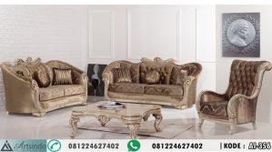 Sofa Tamu Klasik Eropa Mewah AI-356