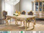 Meja Makan Ukiran Klasik Baroque