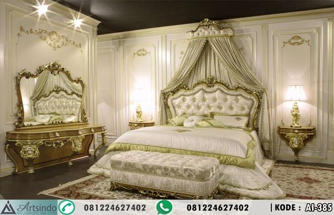 Tempat Tidur Klasik Kamar Utama Baroque AI-385
