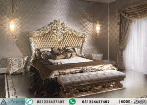 Tempat Tidur Mewah Royal Lux Klasik Ukiran